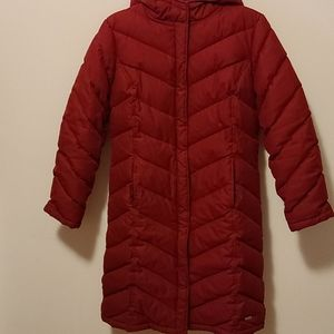 Keneth cole reaction down winter parka red new